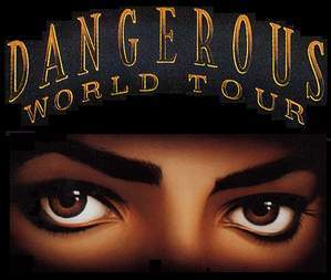 On the dangerous album cover is there tiny clowns in it?