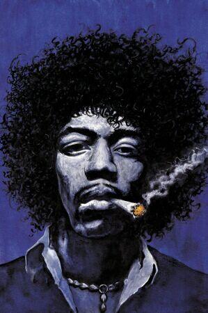"""Jimi Hendrix sung : """"Purple ______"""""""