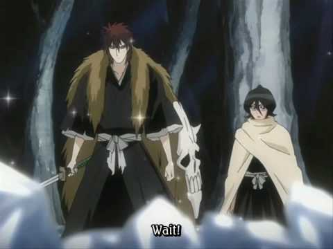 Which is the name of this guy,who is with Rukia?