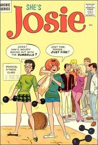 Josie McCoy (Lead Singer Of Josie & The Pussycats) Got Her Own Comic In what Year?