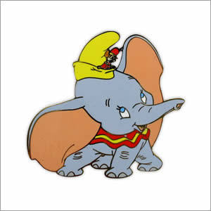 """Walt Disney's Animated Feature """"Dumbo"""" was the _ film in the Walt disney franchise?"""
