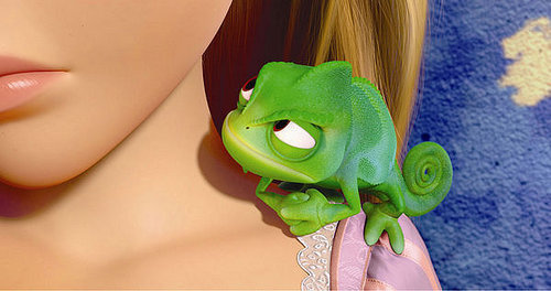 """In this picture from """"Tangled"""" two characters are shown. Who are they"""
