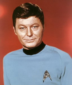 How many episodes give the audience insight into Dr McCoy's past?