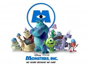 When was Monsters Inc. relased to the public?