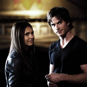 Which episode? Elena: If anda wanted me dead, I'd be dead. Damon: Yes. Elena: But I'm not. Damon: Yet.