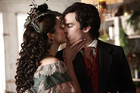 Which episode? Katherine: Kiss me или kill me. We both know you're only capable of one.