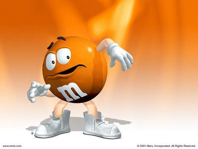 what year was the orange M&M added to the color mix?