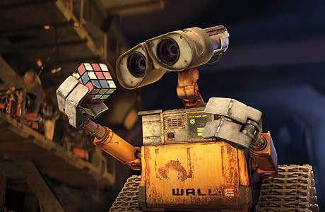 What is the name of the big company in WALL-E?