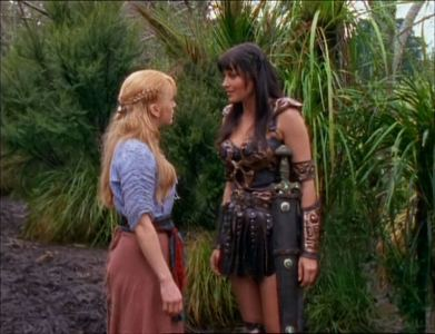 """What was the rule of survival #4 दिया to Gabrielle द्वारा Xena at the beginning of """"Dreamworker""""?"""