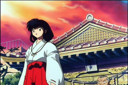 How old was Kagome when she was transported to the Feudal Japan?
