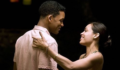 In which movie does Rosario play together with Will Smith?