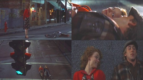 Allie : What happens if a car comes ? Noah : We _______ ?