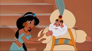 "Who says this line from the movie Aladdin?  ""Good bye, see ya!"""