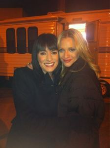Paget looks really happy to see AJ for all these reasons except: