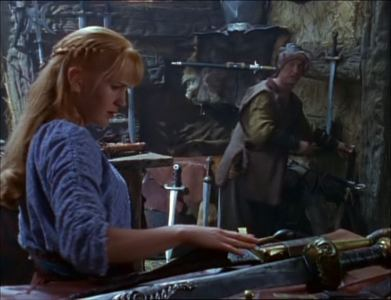 What did Gabrielle purchase from a swordsmith?