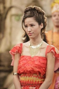 """T/F: Kelsey Chow's first work with Disney is the TV series """"Pair of Kings."""""""