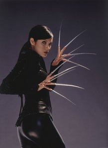 How many lines did Kelly Hu have in X2?