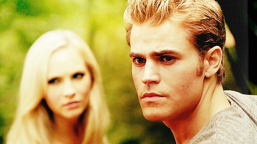 Stefan: My serious vampire look?