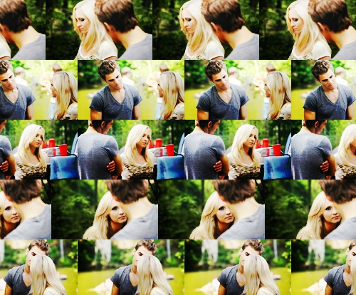 """Stefan: I told you this wasn't going to be easy. Caroline: Yeah well, I might as well have stayed dead. My entire personality is killing me. Shut up"""" Which Episode?"""