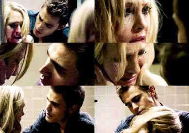 Stefan: Caroline, look at me. Look at me. Caroline look at me. Look at me, 