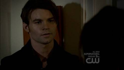 "Weiter line? || Elijah: ""Then I kill him."" Elena: ""Just like that?"" Elijah:*?"