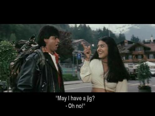 Who sings the song 'Zara Sa Jhoom Loon Main'? (Kajol's part)