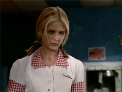 "Why did Buffy choose the name ""Anne"" when she ran away from accueil in Season 3 episode 1??"
