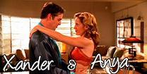 When Anya and Xander were getting married, what were Anya's demon family and friends pretending to be??