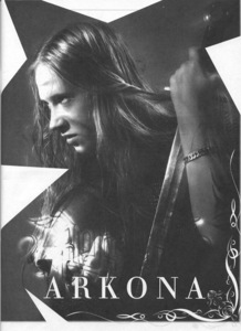 "The name of the band ""Arkona"" refers to what?"