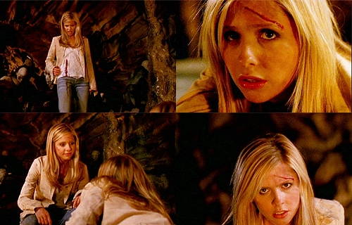 What type of weapon did Buffy find and used to defeat the First?