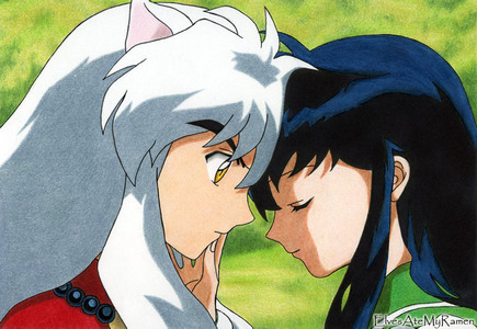 Did Inuyasha and Kagome kiss?