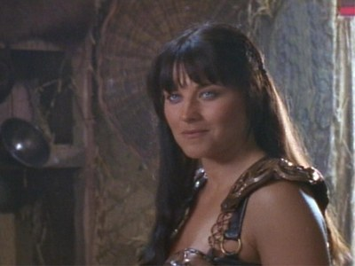 What caused Xena's slight smile?