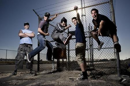 What was Zebrahead's first studio album called?