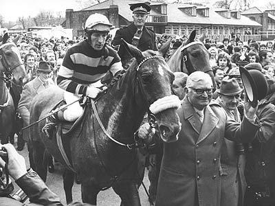 What was Red Rums winning time in the 1973 Grand National?