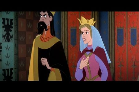 What is the last name to be mentioned in the movie Sleeping Beauty?