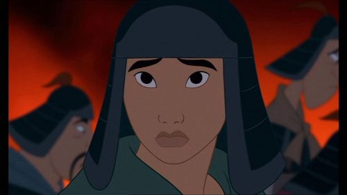 What is the first name یا عنوان to be mentioned in the movie Mulan?
