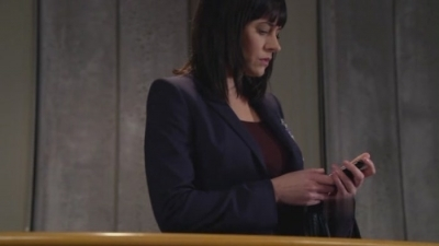 At the end of 6x15 Today I Do Prentiss gets a phone message: