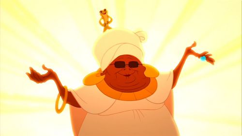"Mama Odie burns what in ""the Princess and the Frog""?"