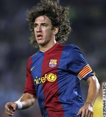 What year will Puyol's contract with the club end?
