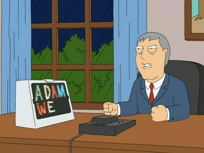 Adam West does his own voice on Family Guy?