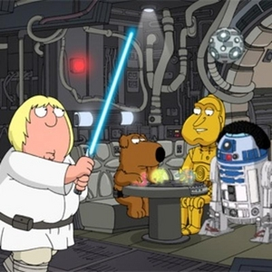 Which Family Guy ngôi sao Wars episode is this from?