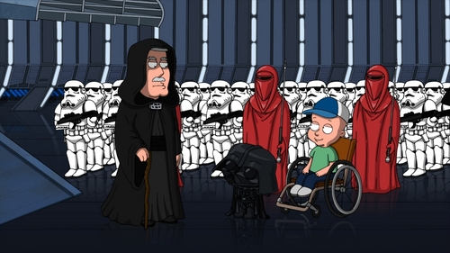 Which Family Guy Star Wars episode is this from?