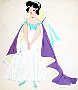 This is an early Character ubunifu of what Female Disney Character?