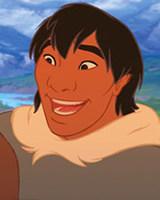 In Brother Bear, what totem animal does Denahi get?