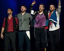 What was Coldplay's first studio album called?