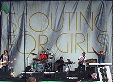 What was Scouting For Girls' first studio album called?