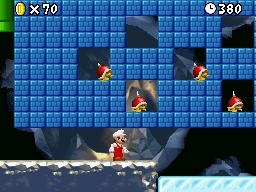 Mario Enemies - Their shells are red and have a single spike projecting out of the top, making them impossible to be jumped upon