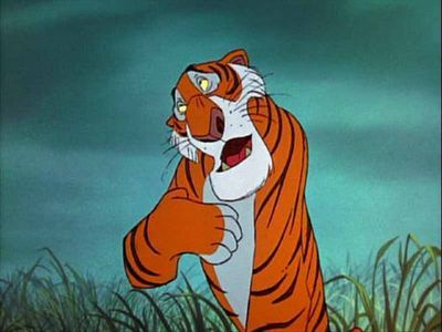 What is the name of the tiger in The Jungle Book