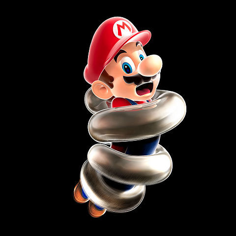 Mario is able to jump higher, but is no longer able to run