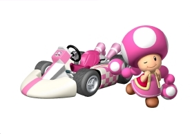 Mario Kart Wii - To unlock Toadette you have to
